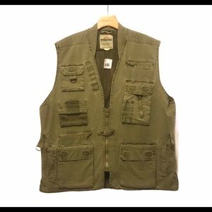 Rothco Outback Vest Hunting Canvas Multi-Pocket